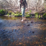 Feet in the Trout Stream