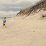 Early morning playtime in Aquinnah