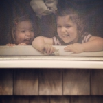 My Little Sunshine's Peekin Out The Window