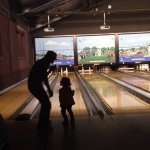 Bowling with 3 Yr Old Freya
