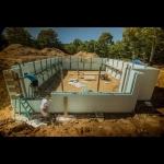 Basement Build Progress